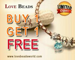 Buy 1 bead or charm get 1 FREE!
