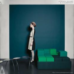 Le Cube Sofa by Rob Van Puijenbroek