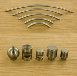 Outwater's Solid 304-Grade Stainless Steel Knobs & Pulls