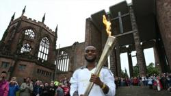 Day 45: Olympic Flame to visit Foxton Locks and Coventry Cathedral on journey from Coventry to Leicester