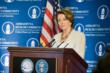 Democratic Leader Nancy Pelosi thanks His Holiness for his courage, integrity, wisdom and compassion.