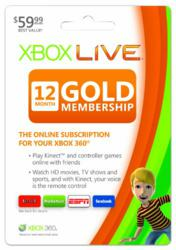 Xbox Live 12-Month Gold Membership available for $37.26 at myhotelectronics.com.