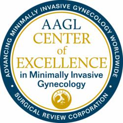 AAGL Centers of Excellence in Minimally Invasive Gynecology Seal