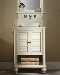 Affordable Islander Inch White Vanity From Xylem. Beautiful 24 Inch Bathroom  ...