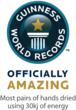 SAVORTEX Guinness World Record Logo