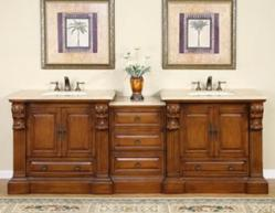 Silkroad Exclusives HYP-0907-95 Double Vanity