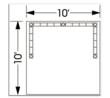 Truss Frame Hardware For Tradeshow Booth Exhibits