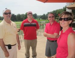 Mark and Mina Fies at the 8th Annual Special Olympics Golf Tournament