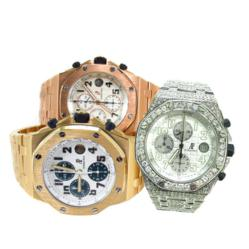 Gold and Diamond Audemar Piguet Watches
