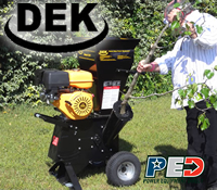 dek wood chipper, dek wood chippers, dek chipper, dek chippers
