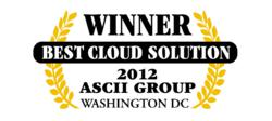 Datto Wins Best Cloud Solution at 2012 ASCii Success Summit Washington DC