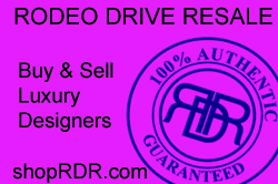 Rodeo Drive Resale - www.shopRDR.com - Has Guaranteed Authenticity of every item sold for over a decade.