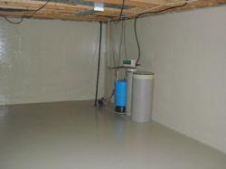 basement radon gas elimination