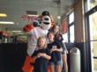 "Official Mascot ""Paws"" of the Detroit Tigers at our Clinton Twp. Location."