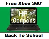 HP Free Xbox 360 Back To School Offer