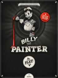 A welcome view of Billy the Painter