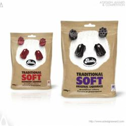 Panda Liquorice Confectionary by David Pearman