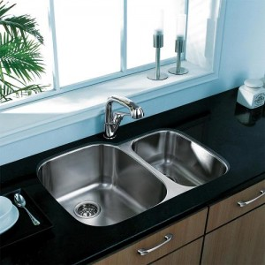 Undermount Stainless Steel 18 Gauge Sink From VigoVG3021L ...