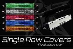 Rigid Industries Single Row Light Bar Covers