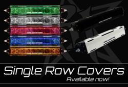 Rigid Industries Single Row Light Bar Covers