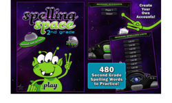Spelling Space – 2nd Grade