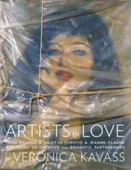 The cover from Artists in Love, a revealing new book about the most passionate artist love affairs in contemporary art.