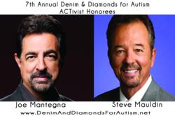 gI 88106 JOE MANTEGNA AND STEVE MAULDIN ACT Today! to Salute Actor Joe Mantegna and CBS TV Executive Steve Mauldin at 7th Annual Denim & Diamonds for Autism Fundraiser, November 3