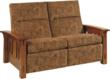 The McCoy Loveseat Recliner boasts sturdy craftsmanship.