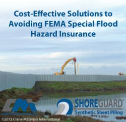 Flood Solutions Using Synthetic Sheet Piling