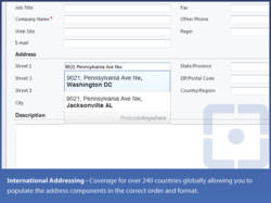 Address validation for Microsoft Dynamics CRM