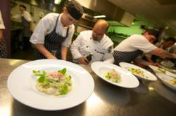 Nova Scotia Snow Crab Risotto with summer peas and fresh tarragon
