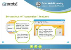 Avoid Convenience Features when Browsing the Internet
