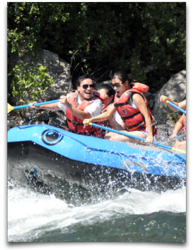 Whitewater rafting, Wenatchee River