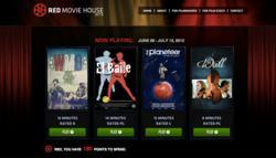 award-winning short films, filmmaker, Red Movie House