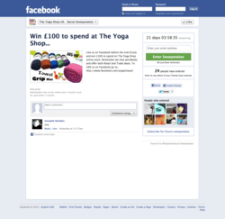 Wishpond Social Offers Facebook application