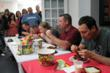 Garland's Spirit Week Fundraising activities included a wing eating contest - photo