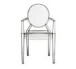 The Louis Ghost Armchair by Philippe Starck for Kartell