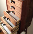 7-drawer Handmade Mini-Chest by Bryan Volk-Zimmerman