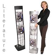 Literature Rack Holders - Brochure Display Holder