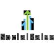 SocialRaise logo.