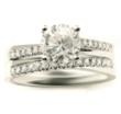 De Beers Promise Ring Style Engagement Wedding Ring Set
