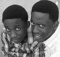 Chidi and Chika Nwaogu