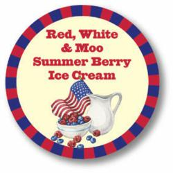 New Red, White and Moo Summer Berry Ice Cream