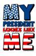 "nine.four.three. ""My President Looks Like Me"" t-shirt mock up"
