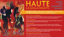 Haute La Jolla Nights - New, Free La Jolla Event, July 21