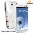 Xpression Cover for Samsung Galaxy SIII White/Red