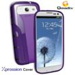 Xpression Cover for Samsung Galaxy SIII Purple/Black