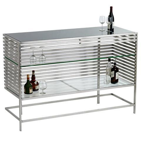 Nuevo Living HGTA380 Delfina Bar Buffet. HomeThangs com Introduced a New Line of Modern Home Bar Furniture
