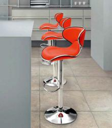 Zuo Modern 300132 Fly Bar Chair Red