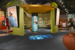 Interactive Floor at Country Music Hall of Fame® and Museum